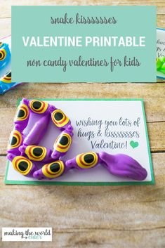 Cute Free Printable Snake Valentine Cards for Boys and Girls Cute Free Printabl. Cute Free Printable Snake Valentine Cards for Boys and Girls Cute Free Printable Snake Valentine C Valentines For Boys, Valentines Day Gifts For Him, Valentines Day Party, Valentine Day Crafts, Valentine Ideas, Valentine Cards, Holiday Crafts, Holiday Ideas, Teacher Cards
