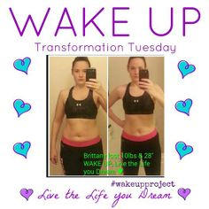 """Check out our gorgeous teammate, Brittany! She has battled stomach issues since age 16...she says, """"Since I started this program, I have not had to miss out on my life once. What started as """"only a 30 day program"""" for me has turned into a total life transformation. That photo is after 30 days, but trust me... I'm not finished. LOVE THIS PROGRAM!"""" www.facebook.com/wakeuplivethelifeyoudream #healthyliving"""