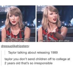 Taylor + tumblr, everyone.: