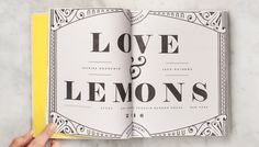 Love & Lemons Cookbook | Design by Make & Matter
