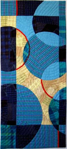 """Roundabout"", 42 x 19"", by Ruby Horansky 