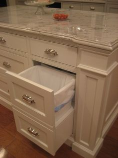 trash can drawer