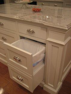 Color is BM White Dove. Counters- White Macubus- Calacutta Quartzite.