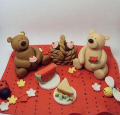 Picnic Bears Cake Decoration Set