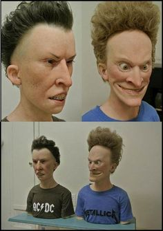 Creepy Beavis And Butthead by ~NyanCatx