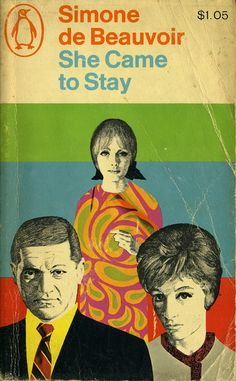 SIMONE DE BEAUVOIR  She Came to Stay--vintage Simone