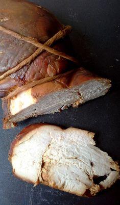 Domowa szynka z indyka - Całkiem Zdrowo Pork, Bread, Fish, Kale Stir Fry, Pork Chops, Breads, Sandwich Loaf