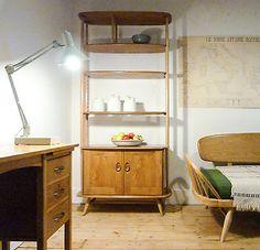 Ercol Retro Vintage Mid Century Room Divider Bookcase