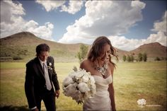 Spring Wedding in Sun valley Idaho. Planning and design by Taylor'd Events