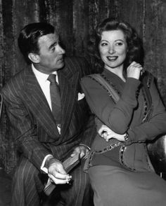 Greer Garson & Walter Pidgeon - One of my favorite screen couples.
