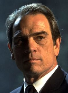 Tommy Lee Jones. The object of so many of my young woman fantasies that to this very day I blush looking at him. Even though we're now both almost 90 ;)