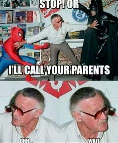 Lol, Stan would so say that!