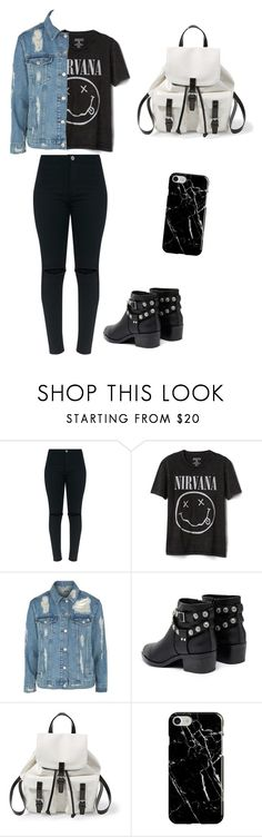 """outfit"" by constanza-tamara-q on Polyvore featuring moda, Gap, Topshop, Senso, Steve Madden y Recover"