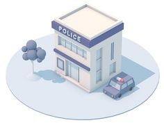 Police station by Yvonne Fung - Dribbble