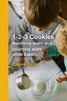 These fun activities from Whirlpool can help parents share important life skills with their kids and reinforce concepts from school through household chores. Preschool Art Activities, Fun Activities For Kids, Kid Lunches, Home Food, Toddler Fun, Math Skills, Addition And Subtraction, Kitchen Items, Pre School