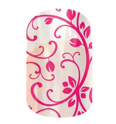 Jamberry Wrap of the Day  MAGENTA FLORAL  #MagentaFloralJN  The Garden Party collection features any and all things garden inspired and feminine. From floral to lace, these designs embrace femininity. Lasts up to 2 weeks on fingernails and 4 weeks on toenails.  http://janellebixler.jamberrynails.net