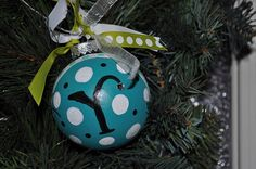 Painted Ornaments by christylacy, via Flickr