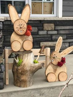 10 Cute And Simple Spring Wood Crafts Diy For You To Try If you want to try out some craft ideas for yourself then check out at our this provided collection. So check them out. Rustic Wood Crafts, Wood Slice Crafts, Wooden Crafts, Primitive Crafts, Primitive Christmas, Country Christmas, Christmas Christmas, Primitive Snowmen, Crafts To Sell