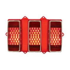 1101072 1969 Ford Mustang Sequential LED Tail Light Pair
