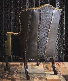 www.BrooklynLeather.com The world's most eccentric custom leather furniture & leather bags designed by Brooklyn underground artist Haywire.