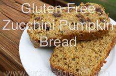 Gluten Free Zucchini Pumpkin Bread by Katie Heddleston