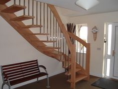 modern open staircase design - Google Search