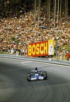 Jackie Stewart at the Österreichring, 1973