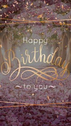 Happy Birthday To Her, Happy Birthday Hearts, Happy Birthday Wishes Messages, Happy Birthday Wishes For A Friend, Happy Birthday Quotes For Friends, Happy Birthday Flower, Birthday Blessings, Happy Birthday Images, Decoration