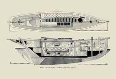 Single-Hand Yawl Cabin & Deck