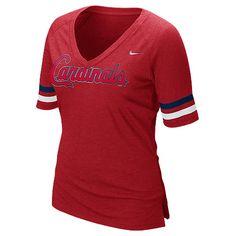 St. Louis Cardinals Women's Half Sleeve Fan T-Shirt by Nike - MLB.com Shop
