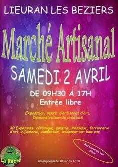 affiche Salon Artisanal de La Récré