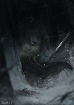 """Game of Thrones"" by Grobelski Assuming this is Ser Waymar Royce?"