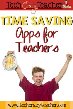 A list of time saving apps for teachers