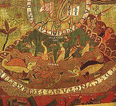 Tapis de la création du Trésor de la Cathédrale de Gérone, fin du XIe siècle…