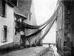 Bretagne - Filets à maquereaux - Douarnenez, Finistère sud