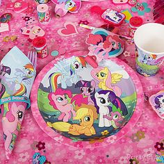 My Little Pony Party Ideas: Decorations - Click to View Larger