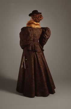 Woman's Three-piece Dress United States, circa 1895 Wool | LACMA Collections
