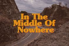 In the middle of nowhere on Behance