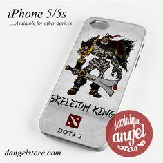 Dota 2 Skeleton King Phone case for iPhone 4/4s/5/5c/5s/6/6 plus