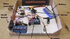 Eyedrivomatic 3D Printed Wheelchair is Here