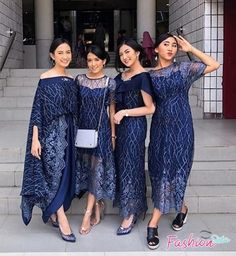 Photos and Videos - New Ideas Model Dress Kebaya, Model Dress Batik, Batik Dress, Model Kebaya Muslim, Dress Brukat, Hijab Dress Party, The Dress, Dress Outfits, Emo Outfits