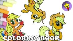 A compilation of Applejack My Little Pony coloring page videos. #mylittlepony #mlp #applejack #mlpcoloring #coloringbook #coloringpage #speedcoloring #friendshipismagic #mlpfim #happymagictoys #happymagictoysmlp #happymagictoyscoloring
