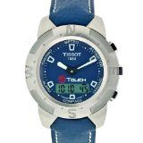 Tissot Men's T33153841 T-Touch Steel Ana-Digi Multi-Function Blue Watch (Watch)  #tissot #watch
