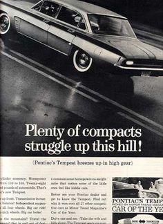 General Motor's Pontiac Tempest/ GTO/ Lemans (1961)
