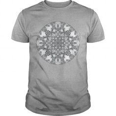 Cool and Awesome Snowflake Mandala Shirt Hoodie