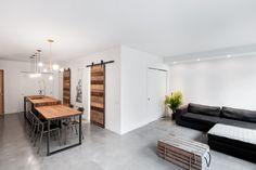 Aire ouverte conçue par KnighsBridge Condo, Divider, Room, Design, Inspiration, Furniture, Home Decor, Kitchens, Bedroom