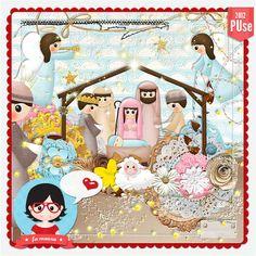 Kit - Nascimento de Jesus by Fa Maura