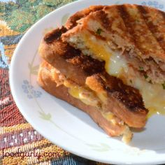 Gluten-Free BBQ Chicken Grilled Cheese!