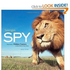 I've heard good coffee table book for kids to look through...Serengeti Spy: Views from a Hidden Camera on the Plains of East Africa