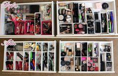 GetGlammedUp - Beauty & Fashion: DIY: Custom Drawer Dividers